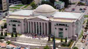 The State Judicial Building in Montgomery, Ala., is seen in 2003. The state's top court ruled against the parental rights of a lesbian who adopted her partner's children in Georgia, and she's appealing that ruling to the Supreme Court.
