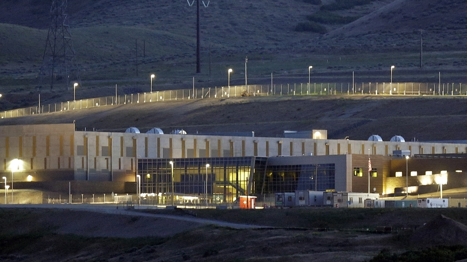 A National Security Agency data center in Bluffdale, Utah. (Rick Bowmer/AP)