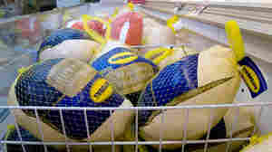 The average wholesale price of turkeys was $1.35 per pound in mid-November. But the retail price of frozen tom turkeys has fallen to an average of 87 cents a pound. Why? Because grocers know cheap turkeys draw customers into the store.