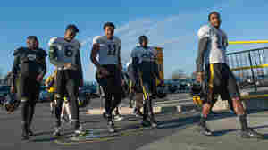 Members of the University of Missouri Tigers football team return to practice Nov. 10 at Memorial Stadium in Columbia, Mo.