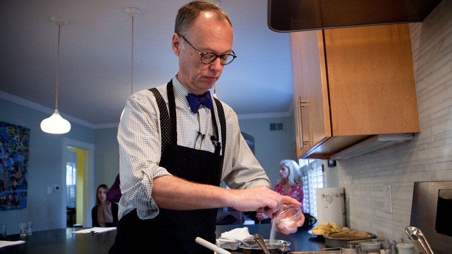 Test Kitchen Chef america's test kitchen founder chris kimball leaves show : the two