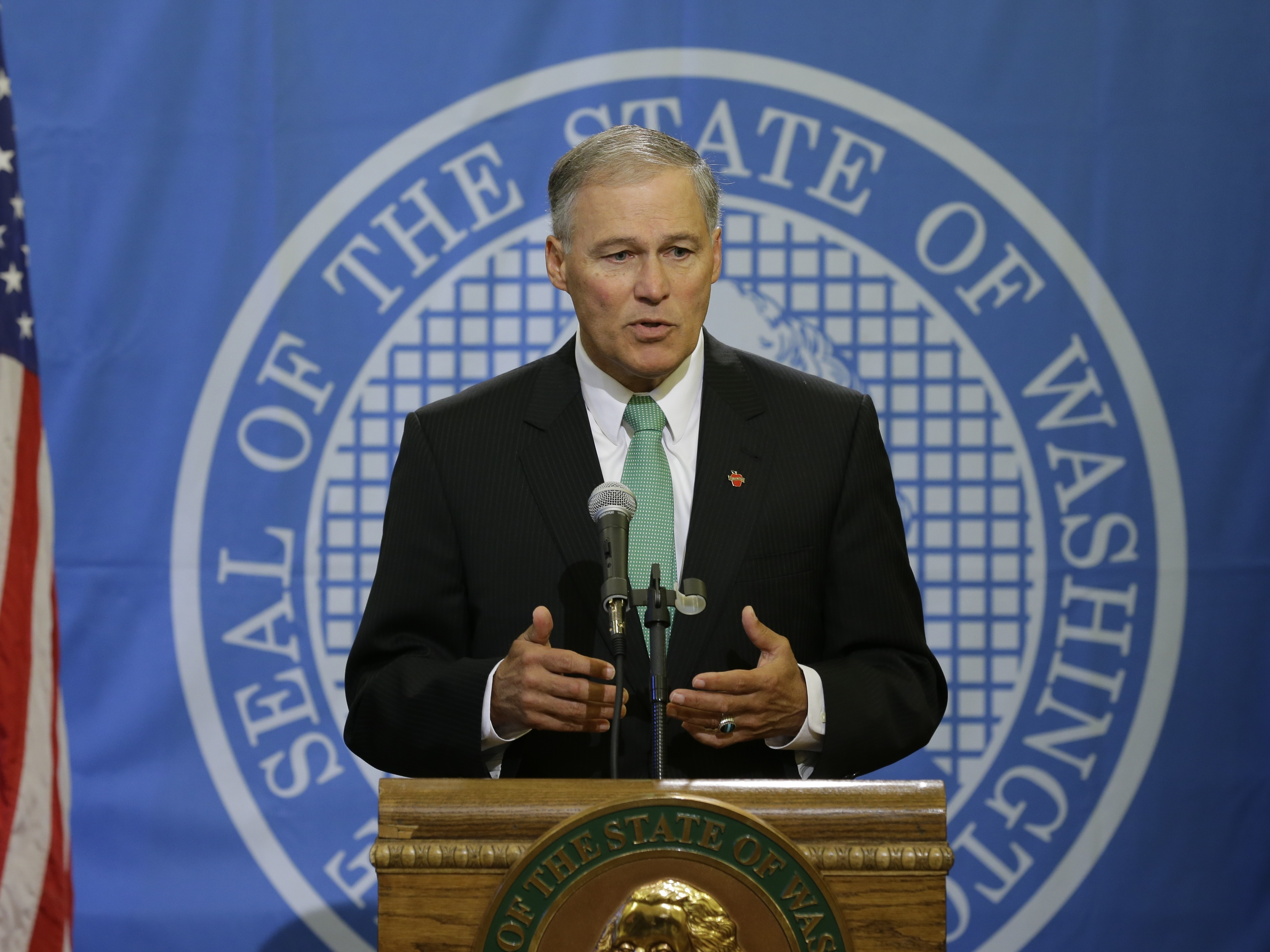 Washington State Governor Says He Welcomes Syrian Refugees