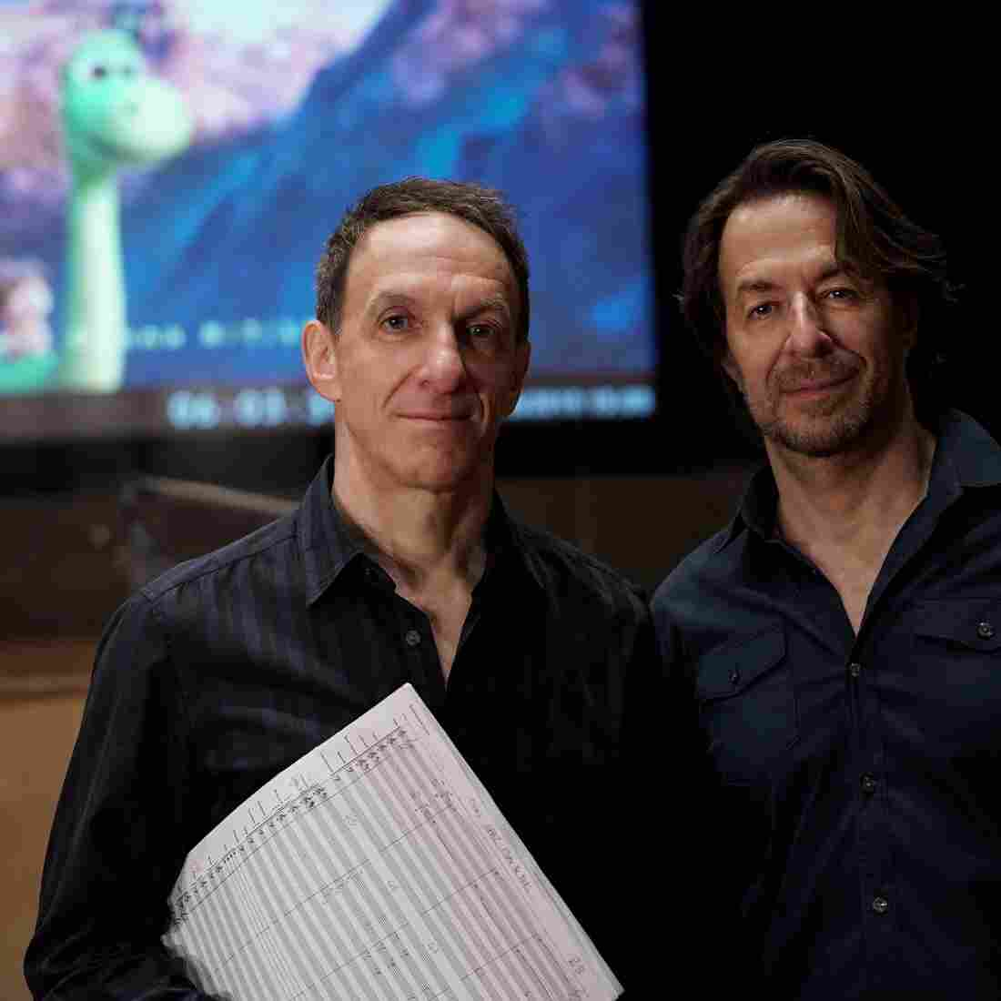 "Brothers Mychael and Jeff Danna composed the music for the new Pixar film The Good Dinosaur. ""The entire process of making a music score is additive, so every little detail becomes part of the whole,"" Mychael says."
