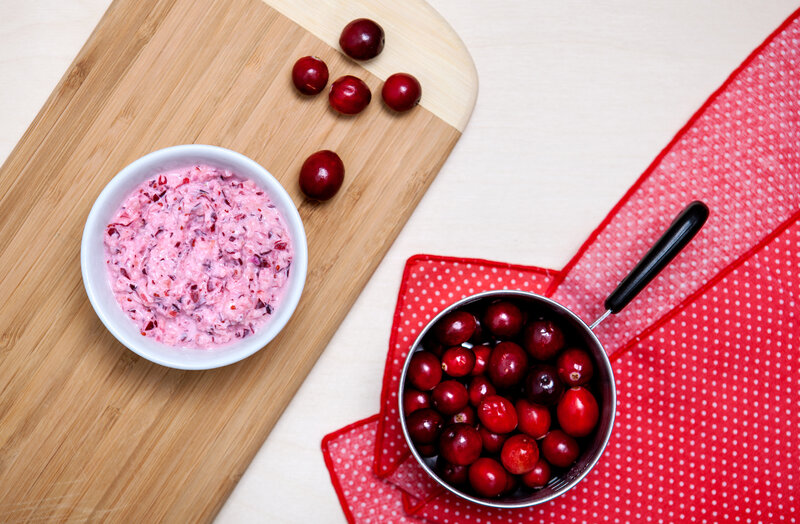 Mama Stamberg's cranberry relish. (Ariel Zambelich & Emily Bogle/NPR)
