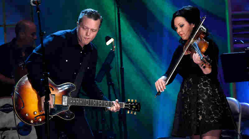 Jason Isbell and Amanda Shires perform during the 2015 Americana Honors and Awards.