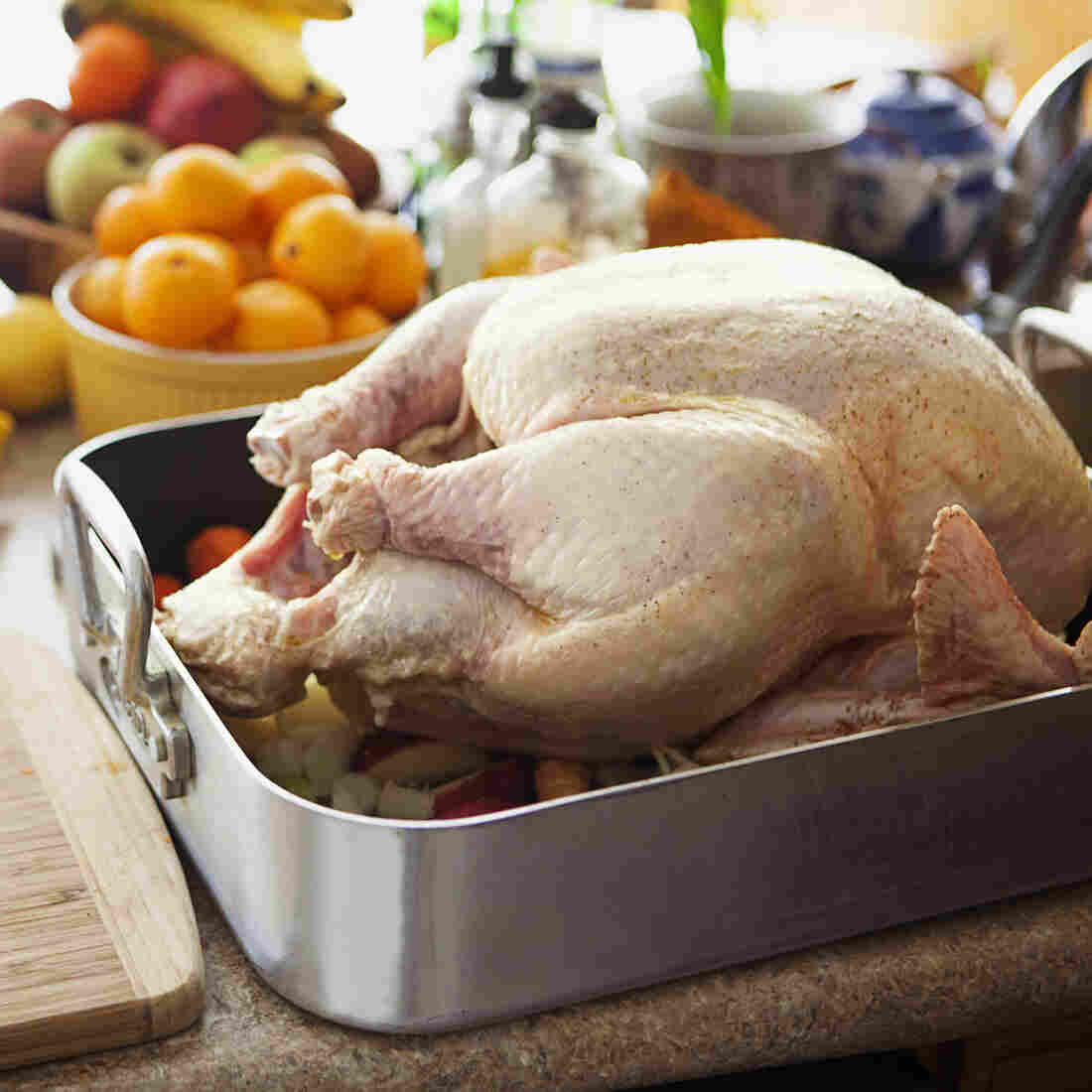 Your turkey should still be prepared on Thanksgiving Day. But many of the side dishes can be prepared ahead of time.
