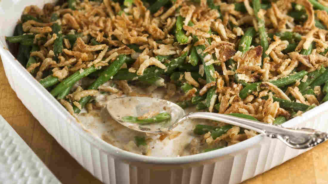 Though it's considered a classic Midwestern dish, Green Bean Casserole was actually born in a Campbell's test kitchen in New Jersey 60 years ago. Love it or loathe it, the dish has come to mean more than just a mashup of processed food.