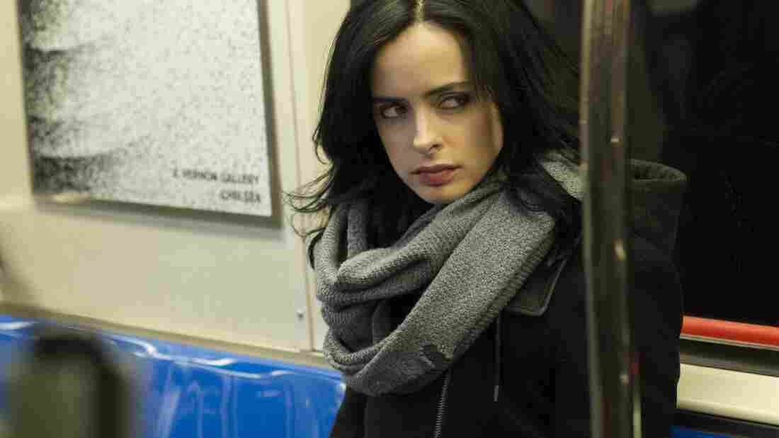 Krysten Ritter plays the believably damaged ex-superhero in Netflix's latest Marvel series, Jessica Jones.