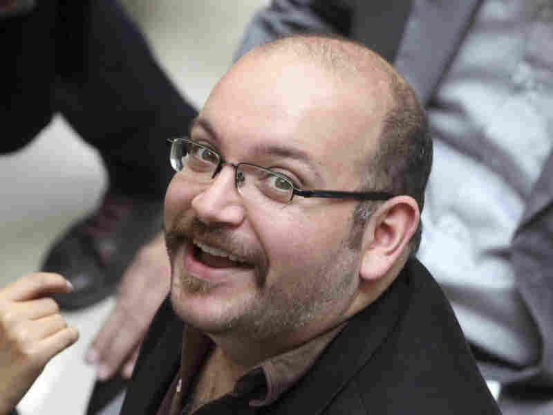 Jason Rezaian, Tehran correspondent for The Washington Post, is seen April 11, 2013.