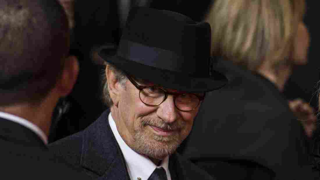 Steven Spielberg arrives for a screening of Bridge of Spies in Berlin on Nov. 13, 2015.