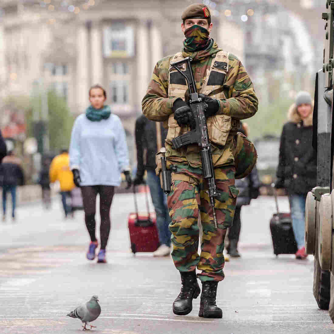 Brussels Remains On High Alert; Schools And Universities To Reopen This Week