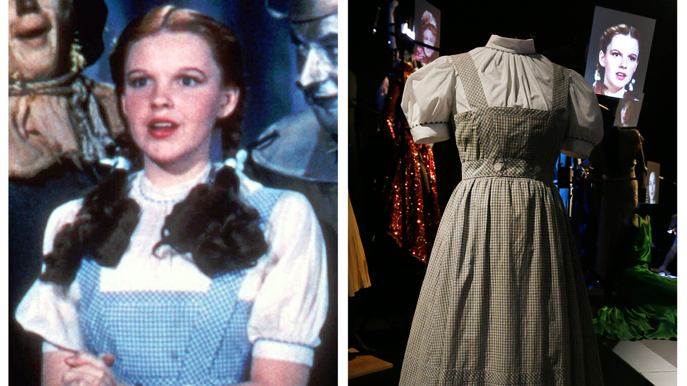 Dorothy Dress From 'The Wizard Of Oz' Sells For More Than $1.5M ...