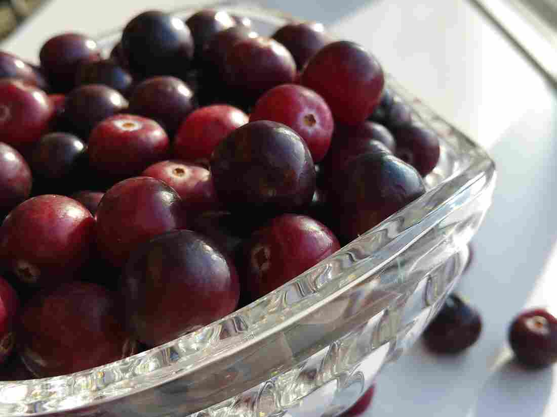 A bowl of Sweeties, an experimental cranberry variety that likely won't come to market for several years, if ever at all.