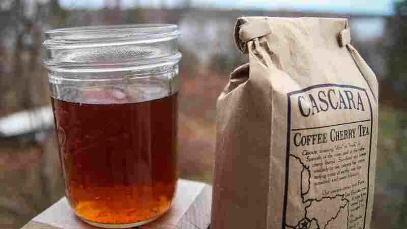 """Cascara is made by brewing dried coffee cherries, which typically would have otherwise ended up as compost. """"We have been throwing away this perfectly good coffee fruit for a long time, and there's no real reason for it, because it tastes delicious,"""" says Peter Giuliano, of the Specialty Coffee Association of America."""