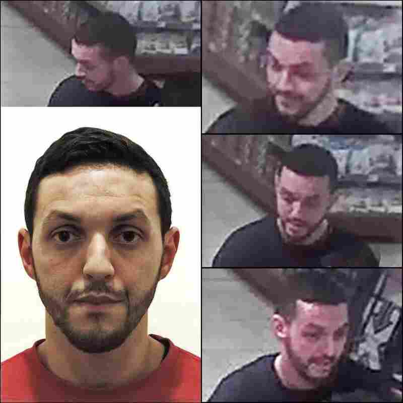 Belgian authorities released this photos of Mohamed Abrini, 30, who was seen with fugitive suspect Salah Abdeslam in a gas station.