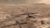 Someday A Helicopter Drone May Fly Over Mars And Help A Rover