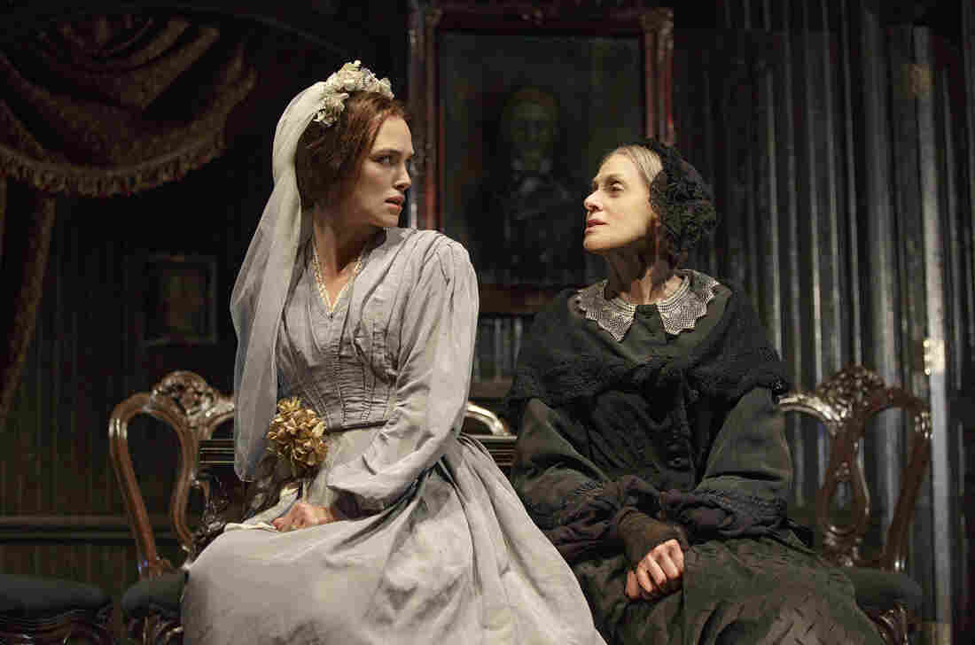 Keira Knightly (left) and Judith Light in the Roundabout Theatre Company's new adaptation of Émile Zola's Thérèse Raquin.