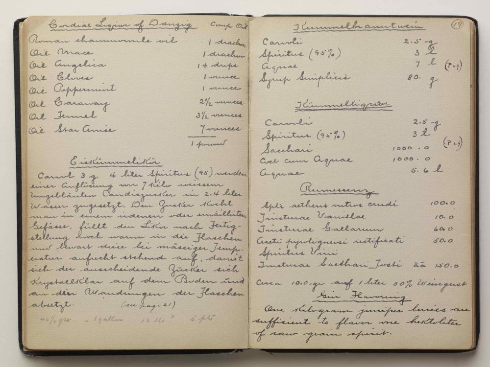 Recipe's in Victor Alfred Lyon's book.