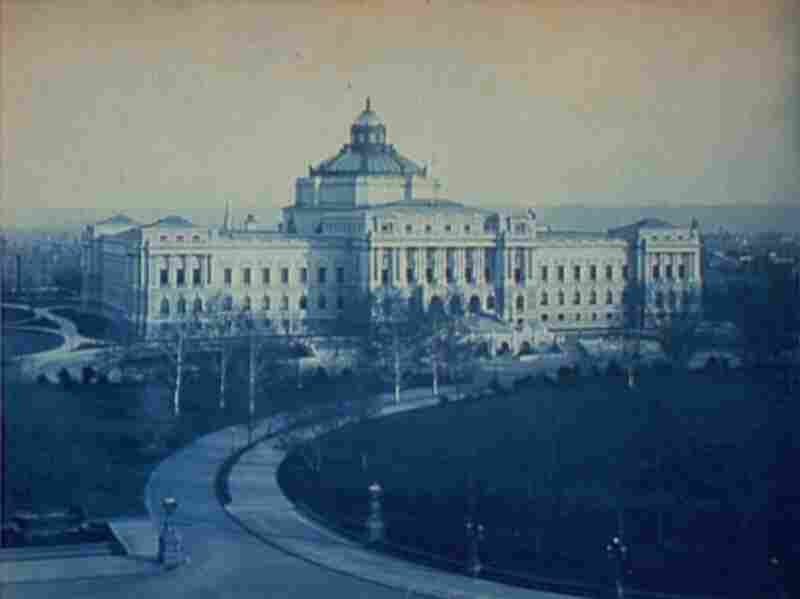 The completed Library of Congress.