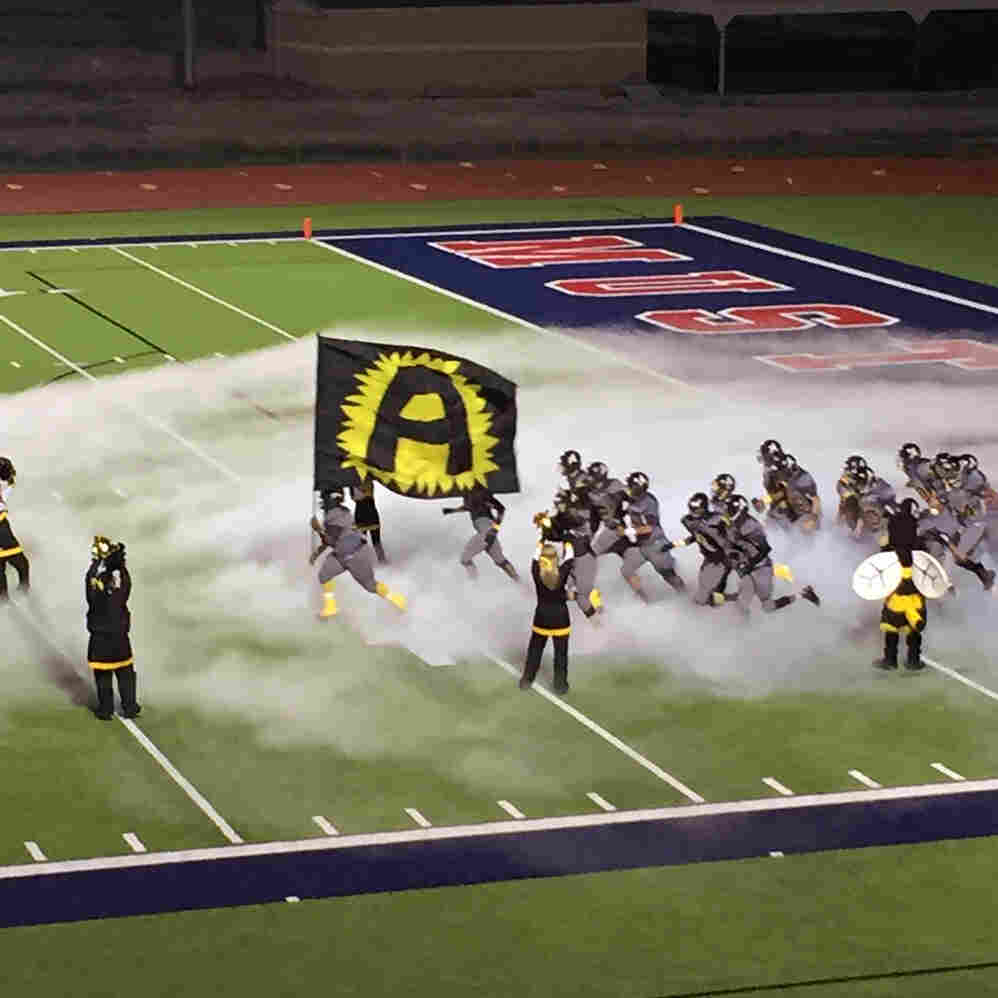 The Alto Yellowjackets take the field on Nov. 13, a month after Matthews died.