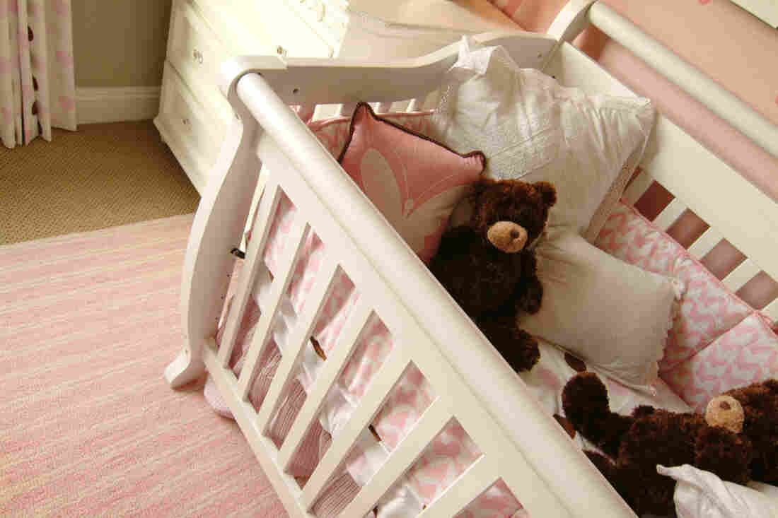 Babies have suffocated after being trapped in padded crib bumpers, according to the Consumer Product Safety Commission.