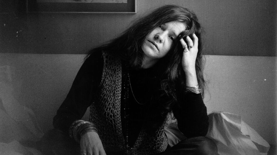 Janis Joplin in 1969. (Getty Images)