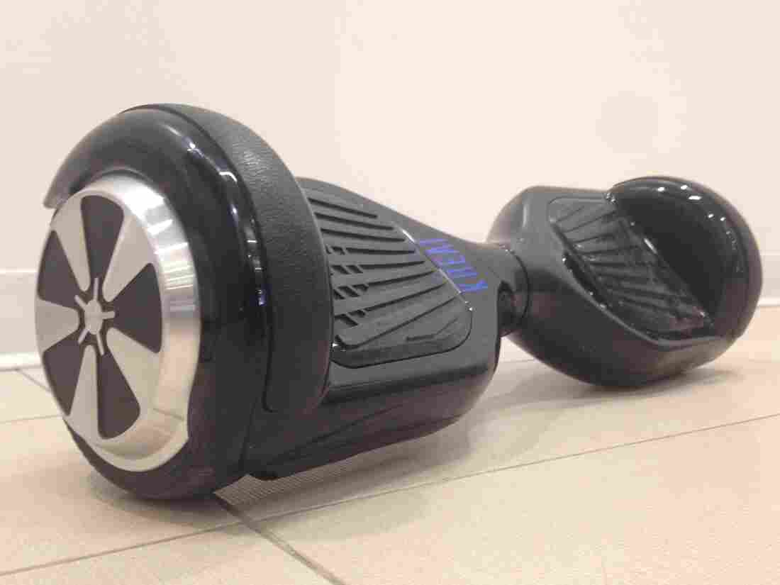 Planet Money's very own hoverboard.
