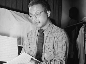 Billy Strayhorn, pictured here in the 1940s, wrote more than 1,000 works, most of them for Duke Ellington.