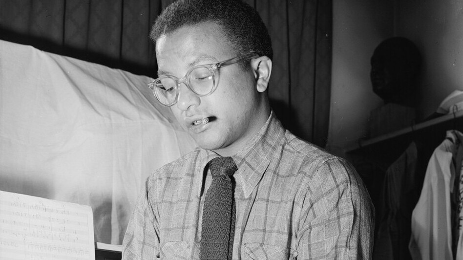 Billy Strayhorn, pictured here in the 1940s, wrote more than 1,000 works, most of them for Duke Ellington. (Library of Congress)