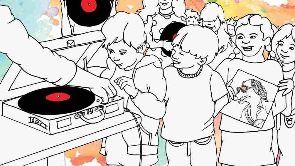 Turntable kids