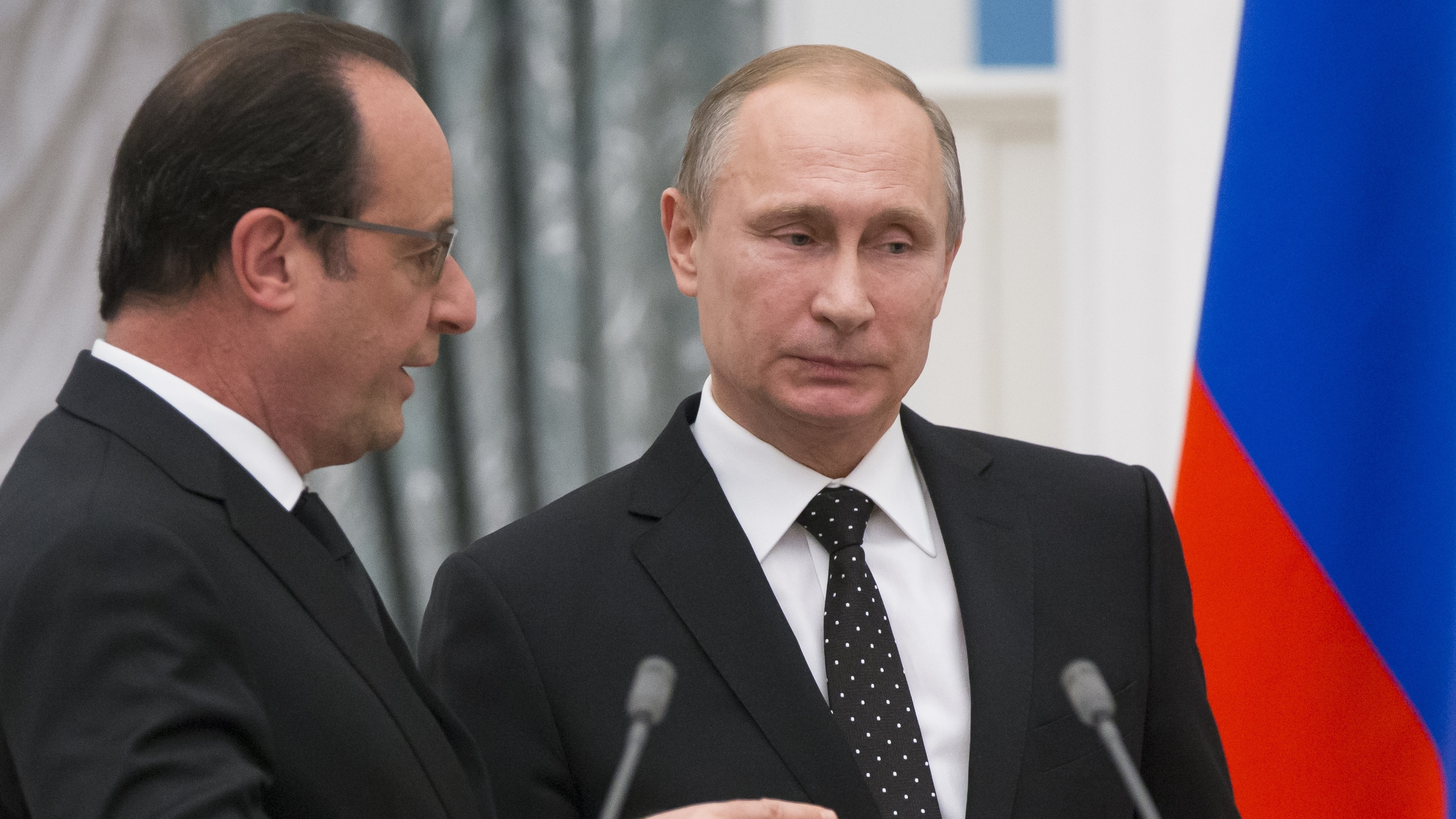 Russia, France Agree To Cooperate In The Fight Against ISIS