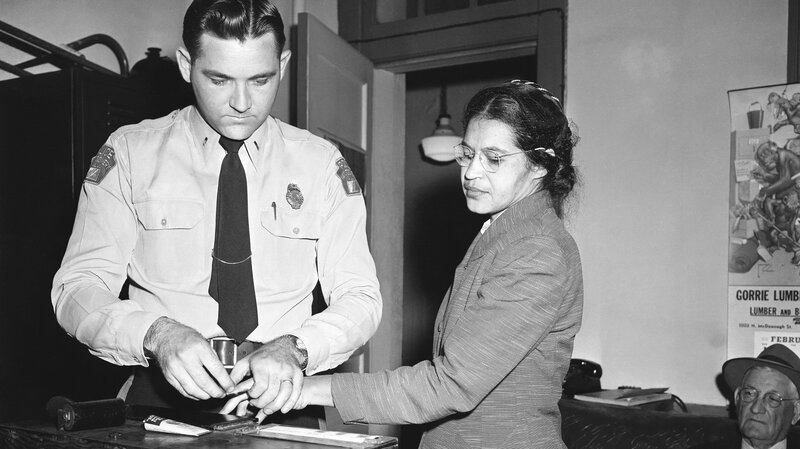 Image result for rosa parks arrest picture