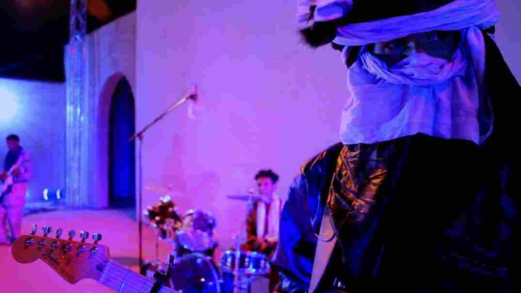 The songs may have changed, and so has the wardrobe, but the battle of the bands still stands at the heart of this Tuareg remake of Purple Rain.