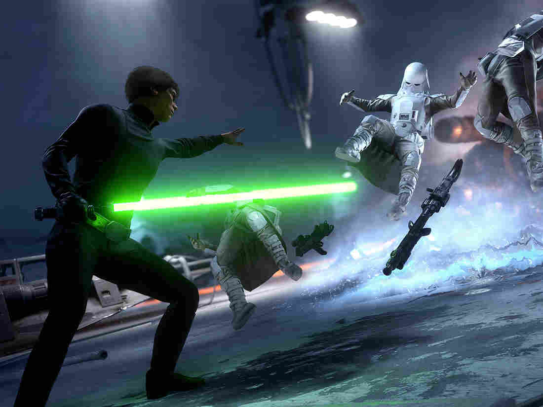 In Star Wars: Battlefront, gamers can take their pick of customization options for the characters they play.