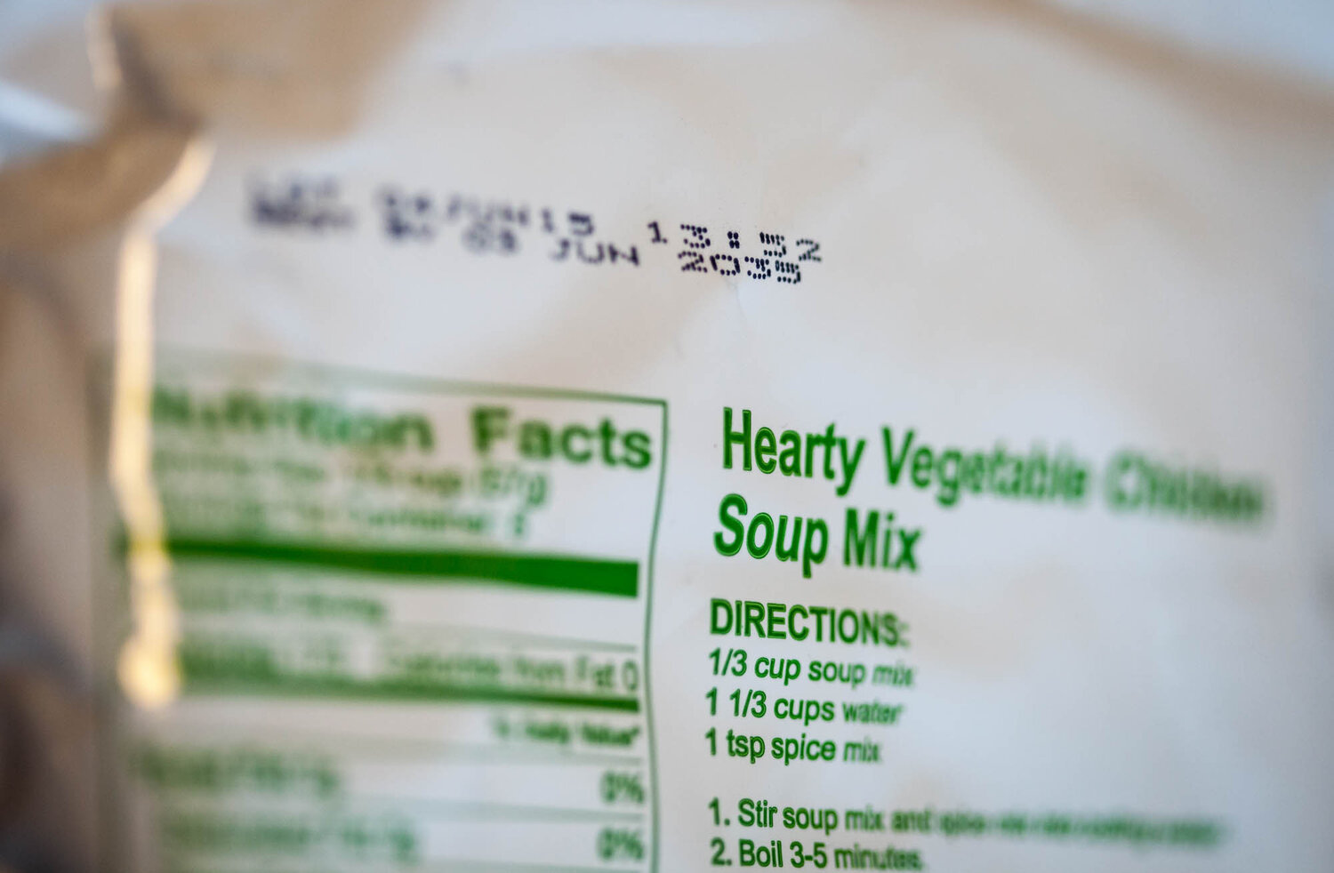 This soup has an expiration date of June 2035.