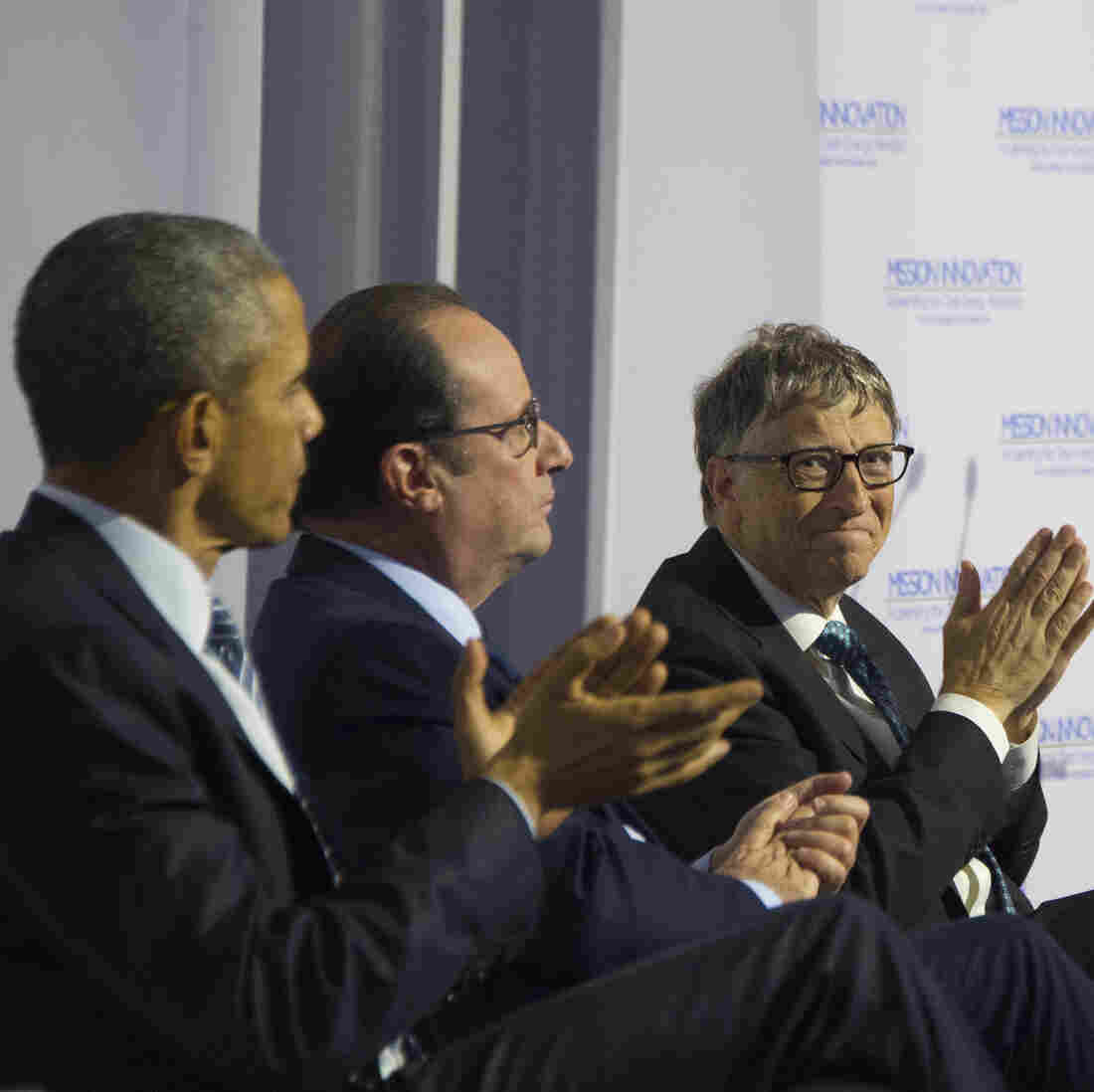 Bill Gates And Other Billionaires Pledge To Take On Climate Change