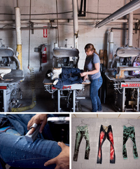 From Pocket Lining To Jeans, A Niche Means Survival In LA Fashion