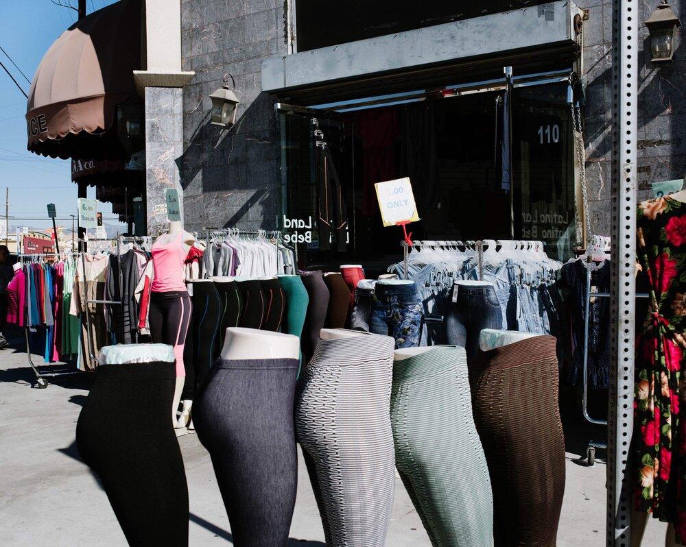 La la fashion district - From Pocket Lining To Jeans A Niche Means Survival In La Fashion