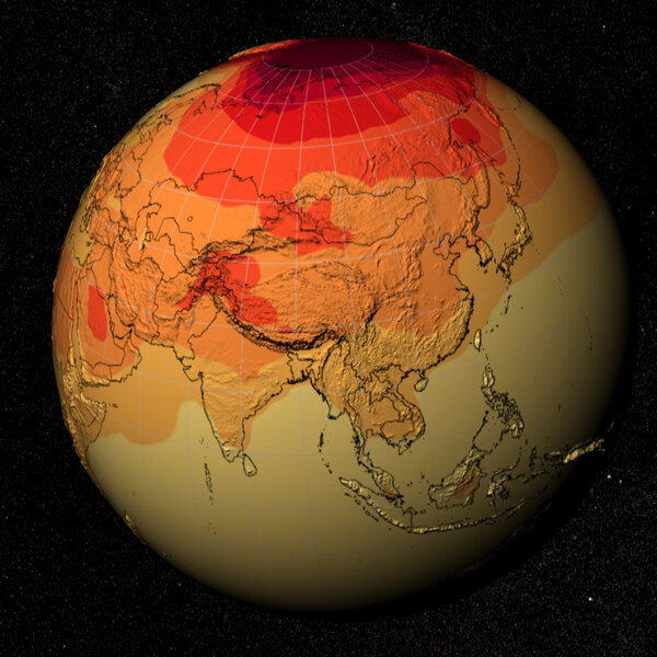 Climate models project 21st century global temperatures.