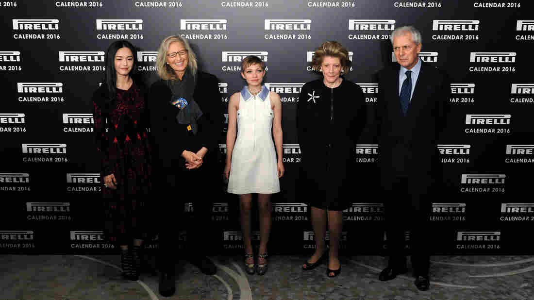 Yao Chen, Annie Leibovitz, Tavi Gevinson, Agnes Gund, and Marco Tronchetti Provera attended the launch of the 2016 Pirelli Calendar by Annie Leibovitz at Grosvenor House in London Monday.