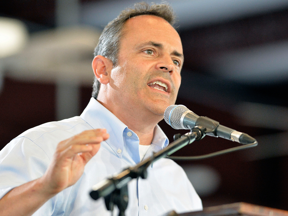 Kentucky Gov.-elect Matt Bevin has vowed to do away with Kynect, the successful state-run insurance exchange. (Timothy D. Easley/AP)