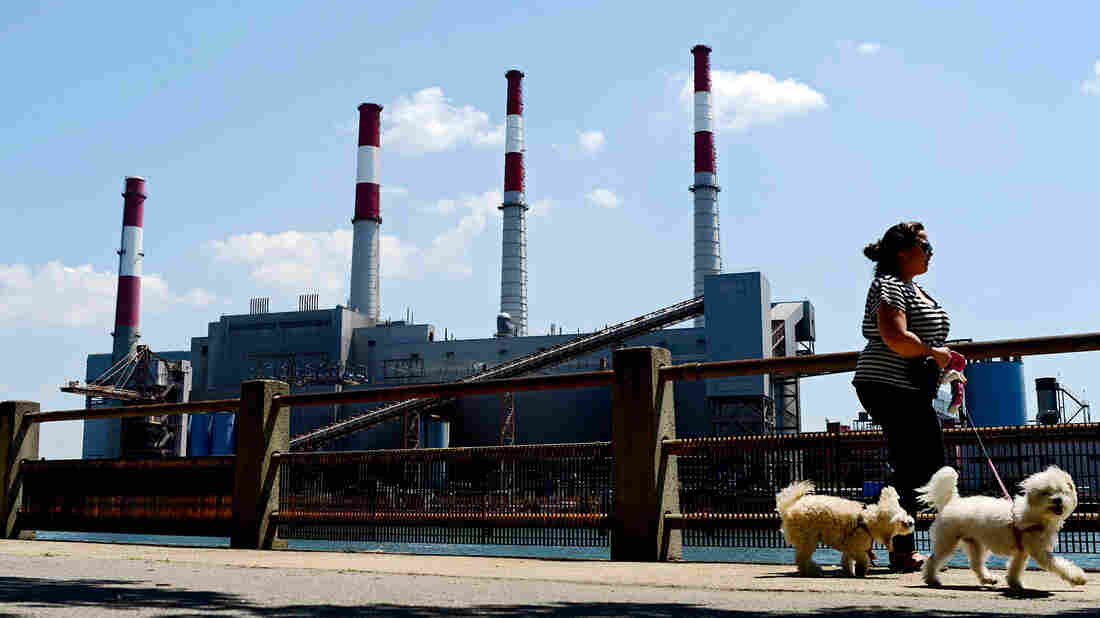 The Ravenswood Generating Station, in Long Island City, N.Y., uses natural gas, fuel oil and kerosene to power its boilers.