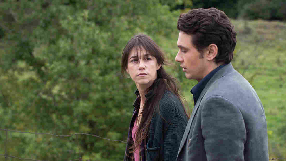 Charlotte Gainsbourg as Kate and James Franco as Tomas in a scene from Every Thing Will Be Fine.