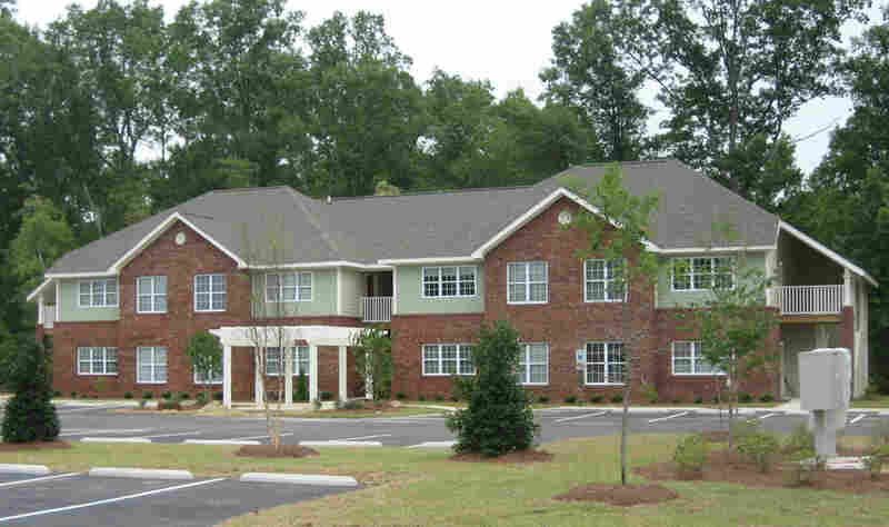 Hertford Pointe, affordable apartments built for teachers in one rural North Carolina school district.