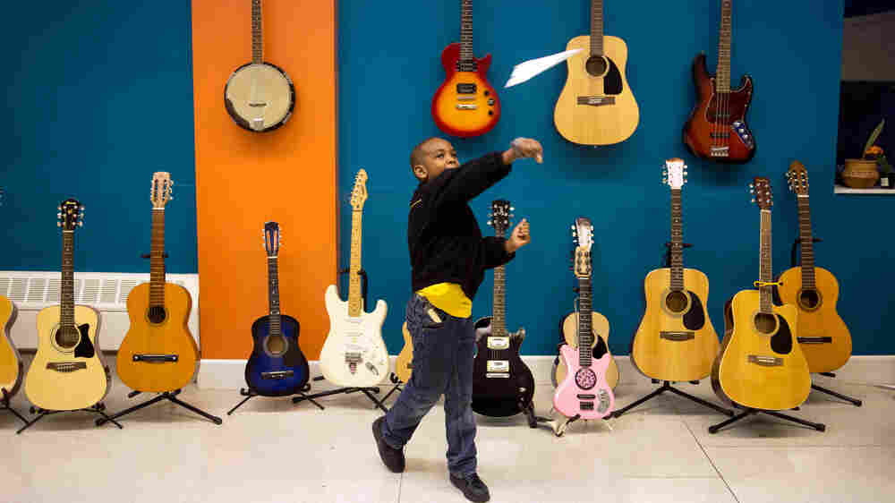 Free Music Lessons Strike A Chord For At-Risk Kids