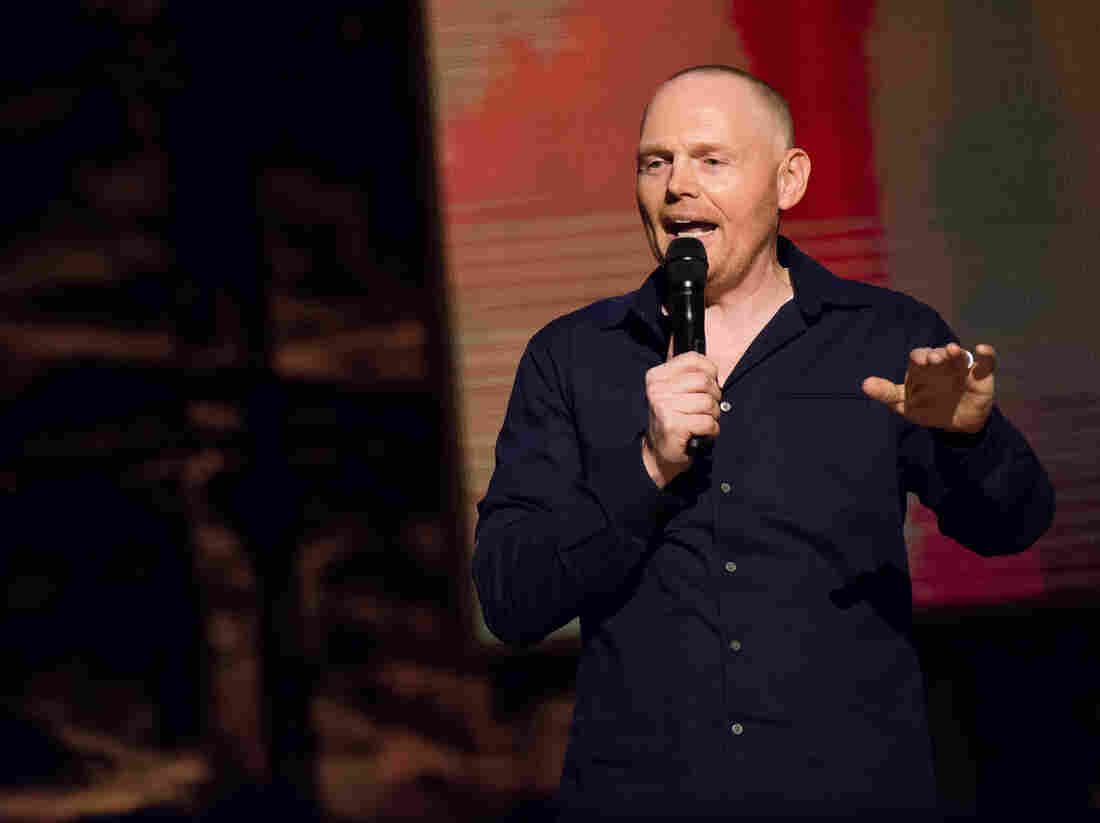 "Shankar Vedantam asks Bill Burr why what makes us cringe, also makes us laugh. Burr says, ""If people see a trainwreck possibly coming, they're going to listen."""