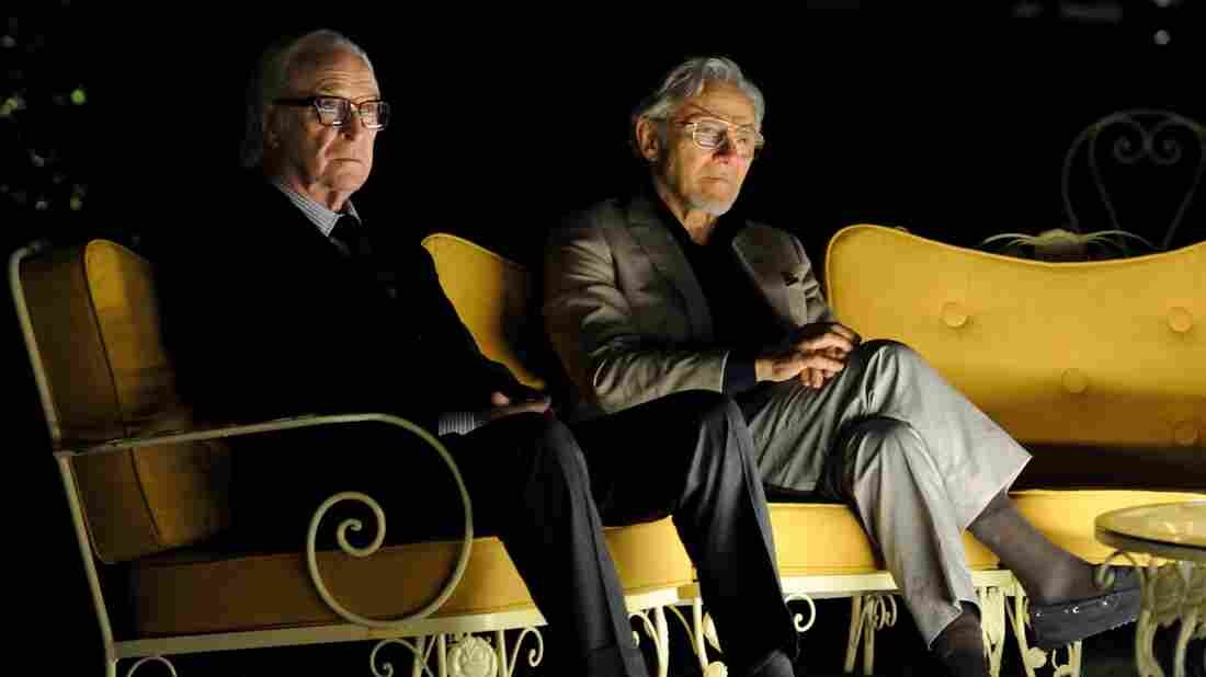 Michael Caine and Harvey Keitel star in Youth as the fictional composer Fred Ballinger and his filmmaker friend Mick Boyle.