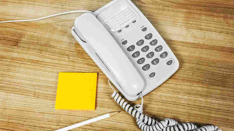 Landline telephones are slowly disappearing from American homes.