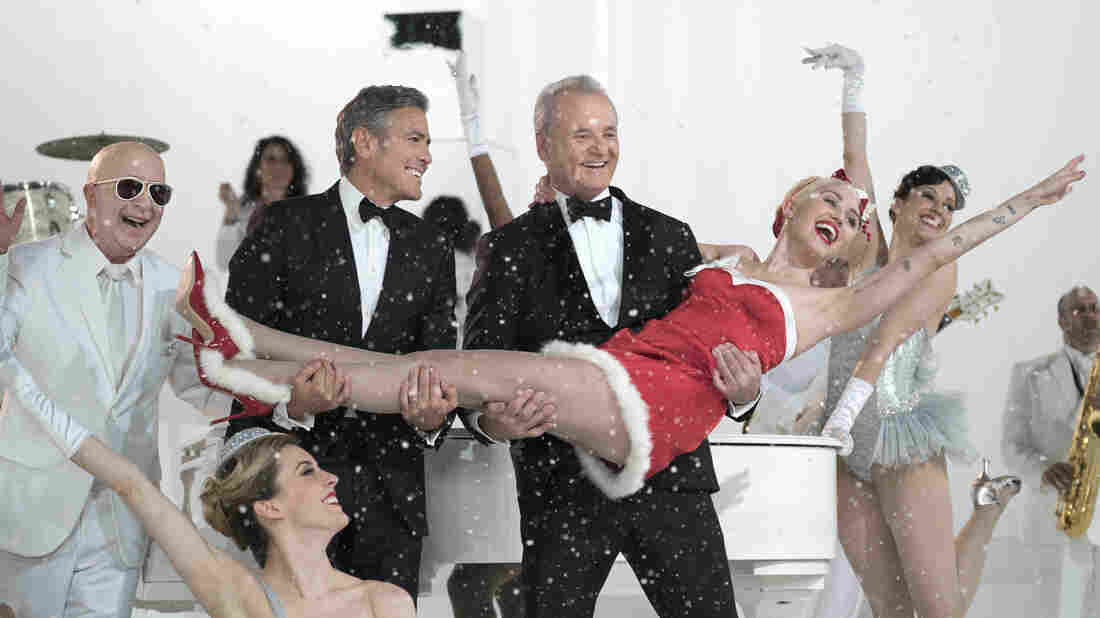 Paul Shaffer, George Clooney and Miley Cyrus are among the guests who join Bill Murray in A Very Murray Christmas, available Friday on Netflix.
