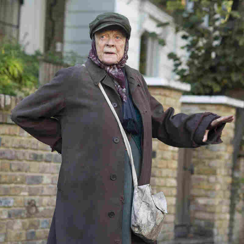 Maggie Smith finds every laugh and every tear in The Lady in the Van.